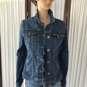 Articles of Society Denim Jean Jacket Full button